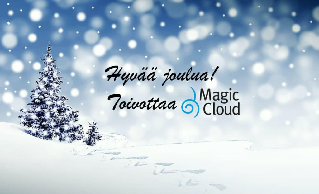 Magic Cloud, uutiset joulunajan aukiolot