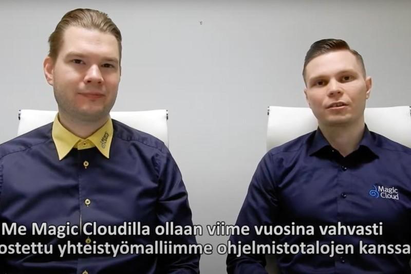 Vlogi: Pilvi-infran kumppanuusmalli ohjelmistotaloille