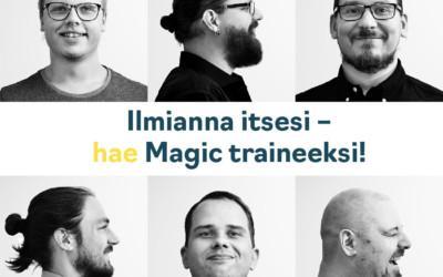 Magic trainee – kehity pilvi-infran asiantuntijaksi